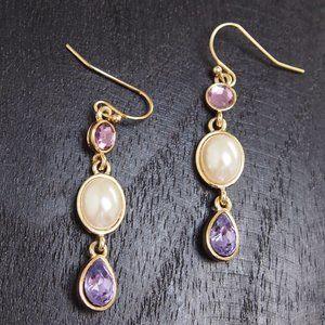 Faux Stones/Pearl Earrings! Mix/Match 2/$10!